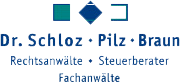 Sozietät Schloz Pilz Braun Logo